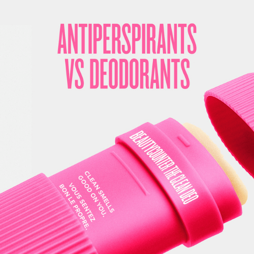 Antiperspirants vs Deodorants.  Photo credit: Beautycounter