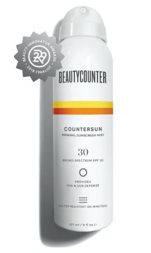 Beautycounter's Sunscreen Mist